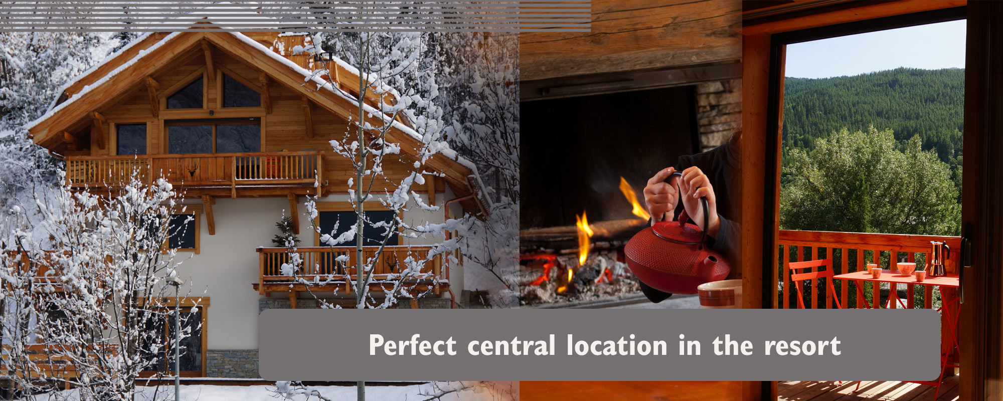 Chalet style luxury apartment for your skiing holidays in Serre Chevalier