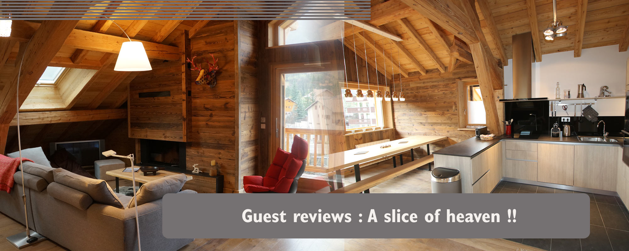 Chalet apartment guest reviews