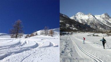 Ski alpin et ski de fond à Serre Chevalier