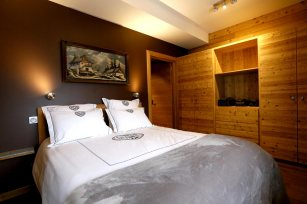 Chambre 1 - lit double