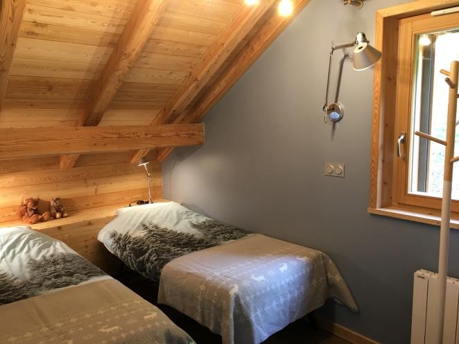 Chambre 4 - Version 2 lits simple