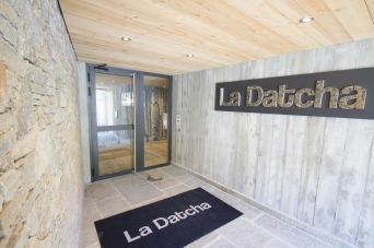 Entrée résidence La Datcha